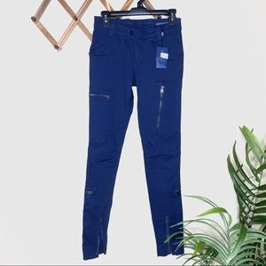 NWT Ralph Lauren Blue Cargo Pants